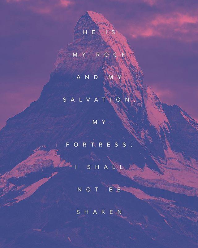 🙌🏼 Psalm 62:6