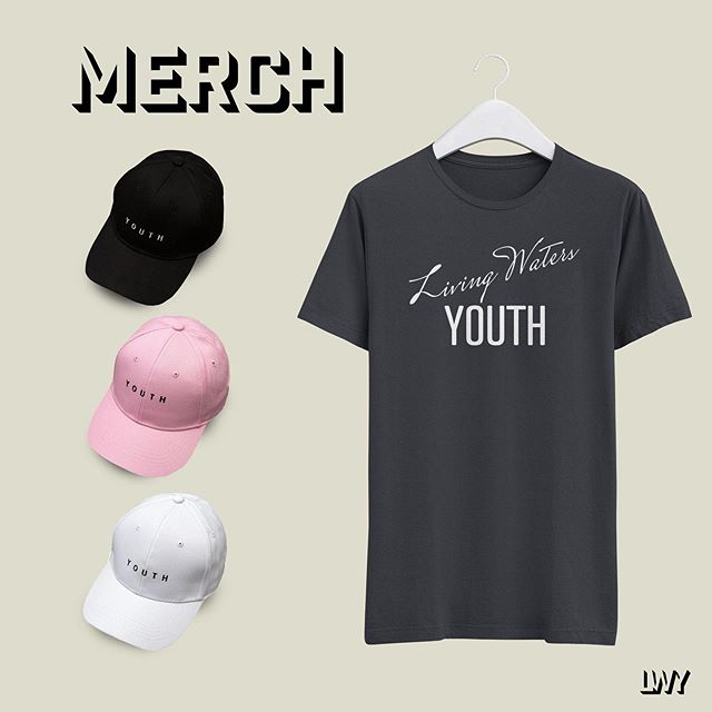YOUTH MERCH IS HERE! T-shirts: $18 | Hats: $12 Grab yourself one Tuesday's at 6:30pm. All proceeds go to the student led missions organization Speed The Light. Contribute to missions and be stylin' while you're doing it! #lwyouth #youthmerch