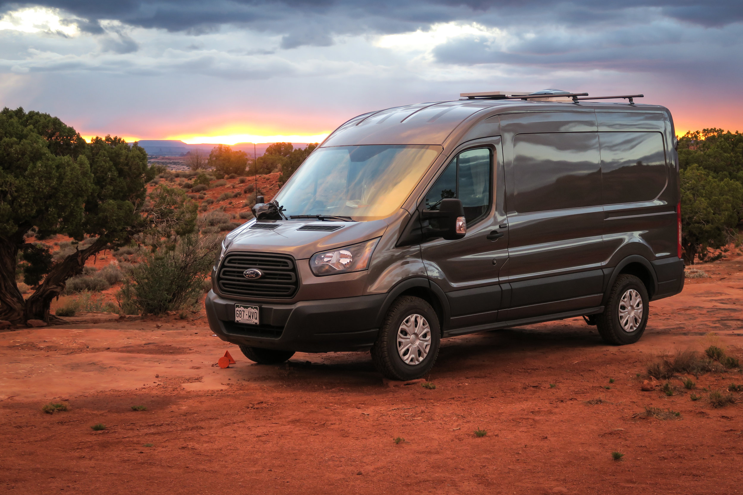 WINDOW COVERS:  FORD TRANSIT