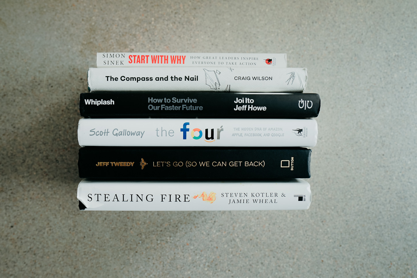 Books to get you Inspired - Some of Josh's most recent favorite reads and why he loves them