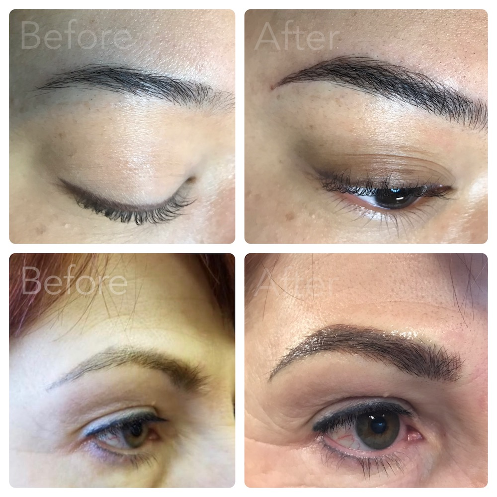 Permanent Makeup - We specialize in advanced permanent makeup services including eyebrow microblading, lip liner, eye liner and correctional services.