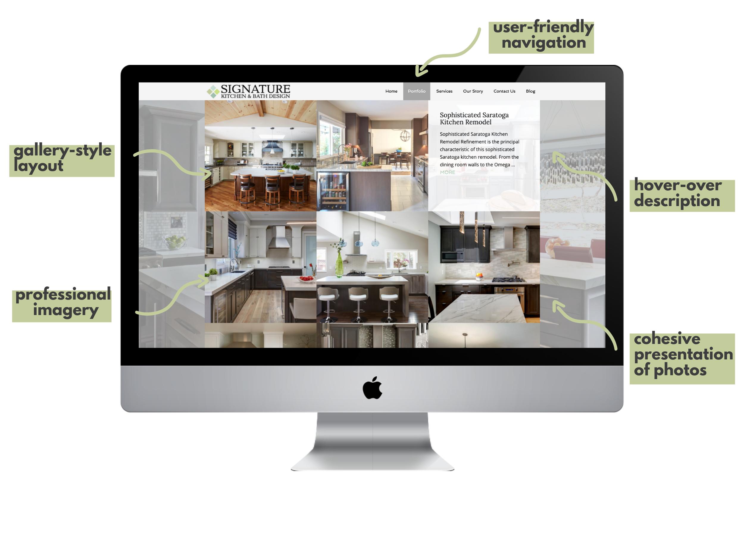 Content Strategy Case Study: Signature Kitchen Design