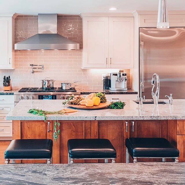 You're guaranteed to feel like a Food Network star in this rustic, yet refined, San Jose Transitional Kitchen. With its white Omega cabinetry and rich, opaque, under-island storage, this space undoubtedly invokes nostalgic feelings of home. 🏠⁠ ⁠ Optmira Client Spotlight: Signature Kitchen & Bath Design is a Cupertino-based cabinetry company that crafts custom living spaces for their clients. With a desire to refine their brand identity, Optmira implemented a variety of content marketing strategies to achieve this goal.⁠ ⁠ #dreamkitchen #kitchengoals #kitchendesign #kitchendetails #cabinetconstruction #cabinetdesigner #kitcheninspo #designlovers #currentdesignsituation #simplystyleyourspace #customcabinets #kitchenstyle #kitchenideas
