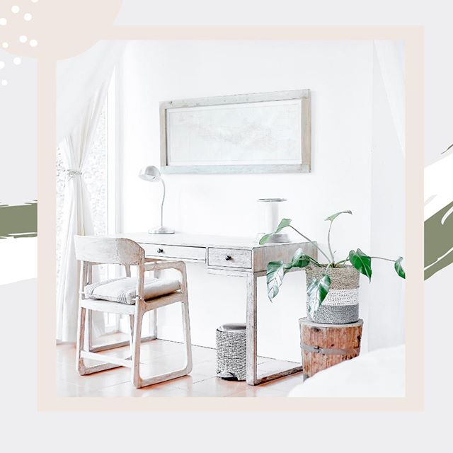 The start of the workweek is always easier if you have a comfy, clean and organized workspace. 🖥🌿⁠ ⁠ A few of our favorite tips to make your workspace feel like home:⁠ 1) Keep it organized--throw away all of that unnecessary junk. 🗑⁠ 2) Put up a photo or two with friends and family--a reminder of your those who motivate you! ❣️⁠ 3) Hang your favorite piece of artwork above your desk--who doesn't love some eye candy!? 👁 ⁠ ⁠  #design #interiors #decor #motivation #business #inspiration