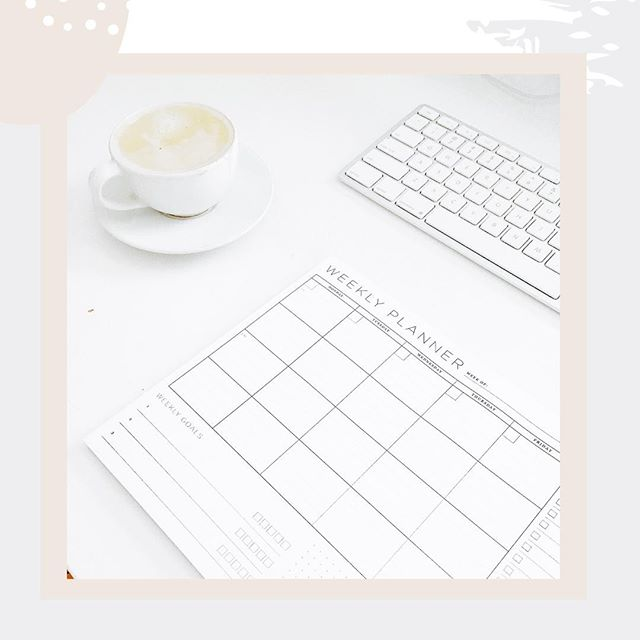 We love to start the week by sitting down and planning out our days...🗓⁠ ⁠ If you have a busy week, this always helps to keep you on track toward your goals. ✔️⁠ ⁠ If you don't have a busy week, add a few of your favorite things on that weekly planner instead! ⁠ ⁠ What is your best method for keeping your creative business on the right track? We would love to hear new ideas from YOU. ⁠ ⁠ If you are looking for some inspiration instead, check out our blog, link in bio. 💭⁠ ⁠ #motivation #inspiration #success #business #focus #goals