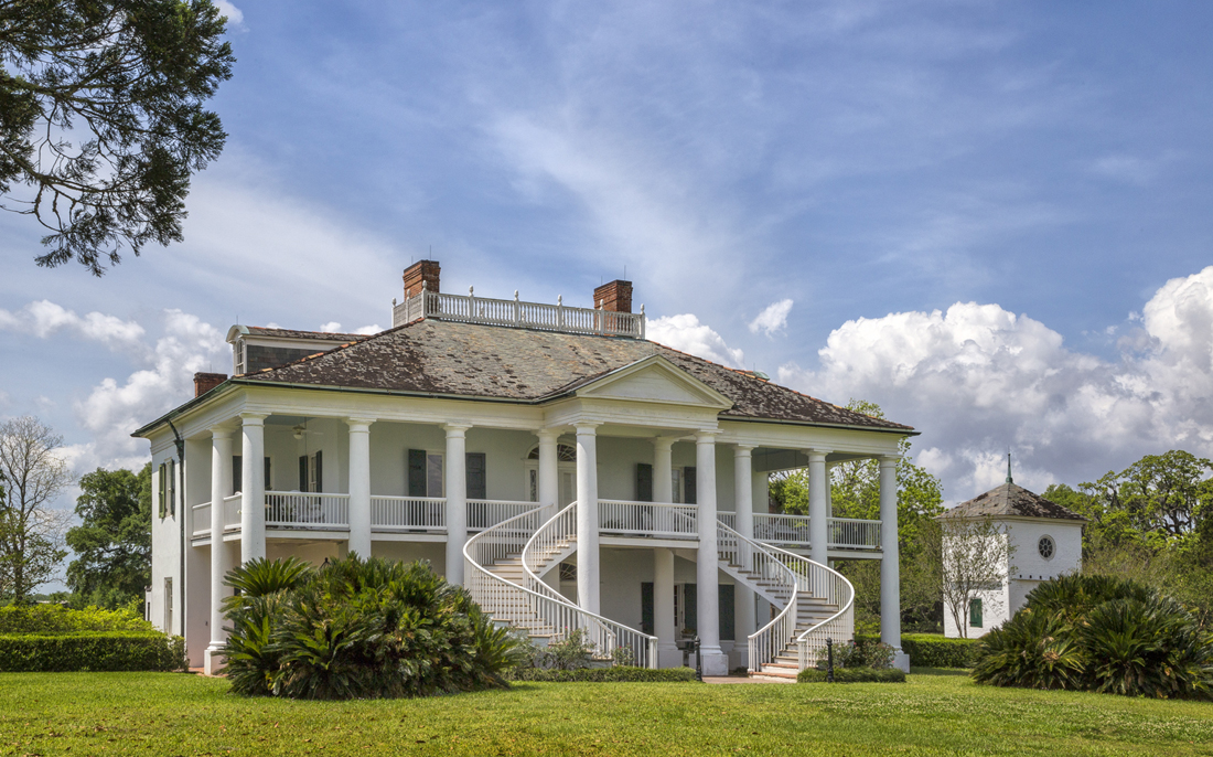 Click this photo to explore the evolution of Evergreen's manor house.