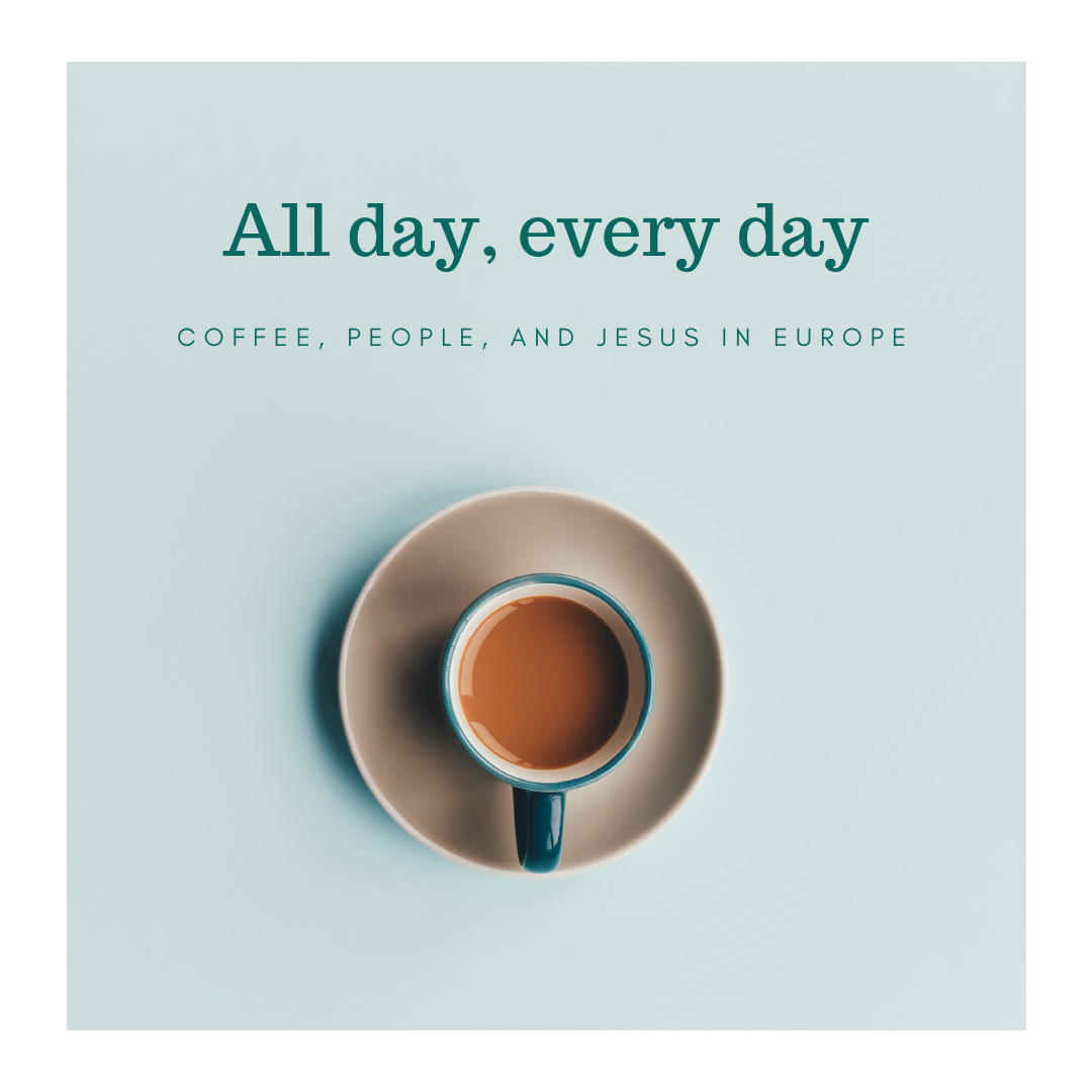 Coffee People and Jesus in Europe - arielrainey.com