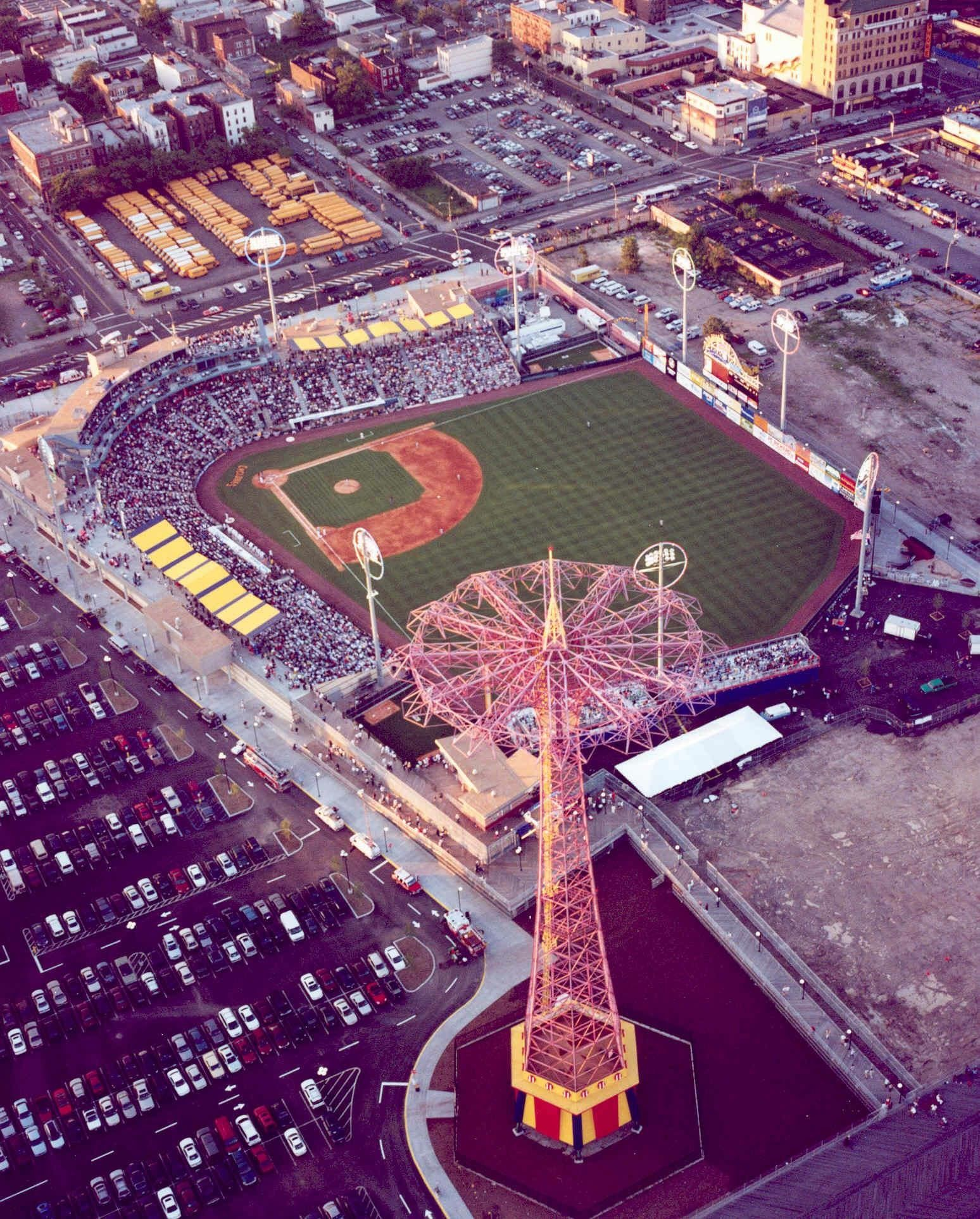 MCU Park, Home of The Brooklyn Cyclones. Image: David Torres
