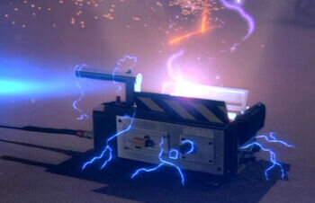 The foot trap. Ghostbusters (1984). Image: Columbia Pictures
