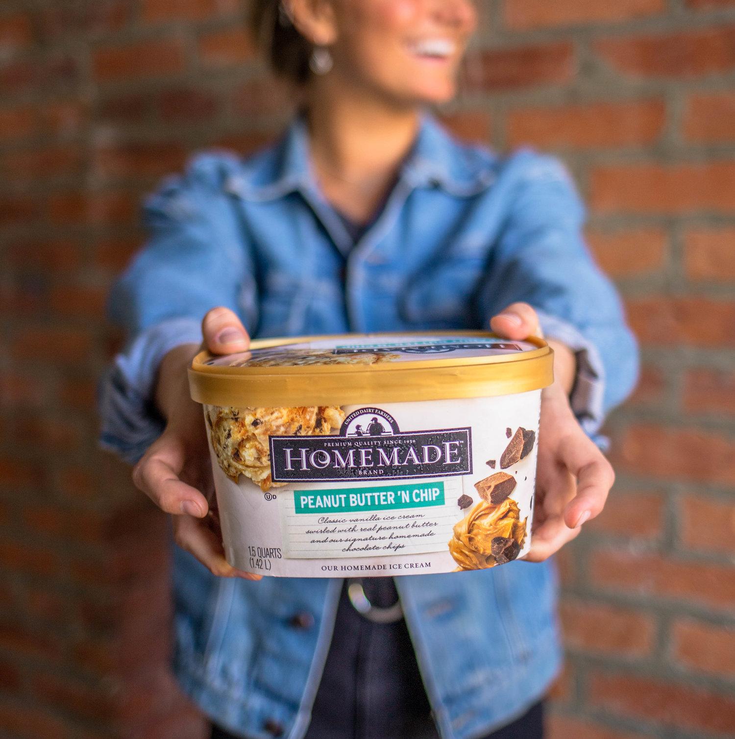 Homemade Brand Ice Cream — Flare Visuals