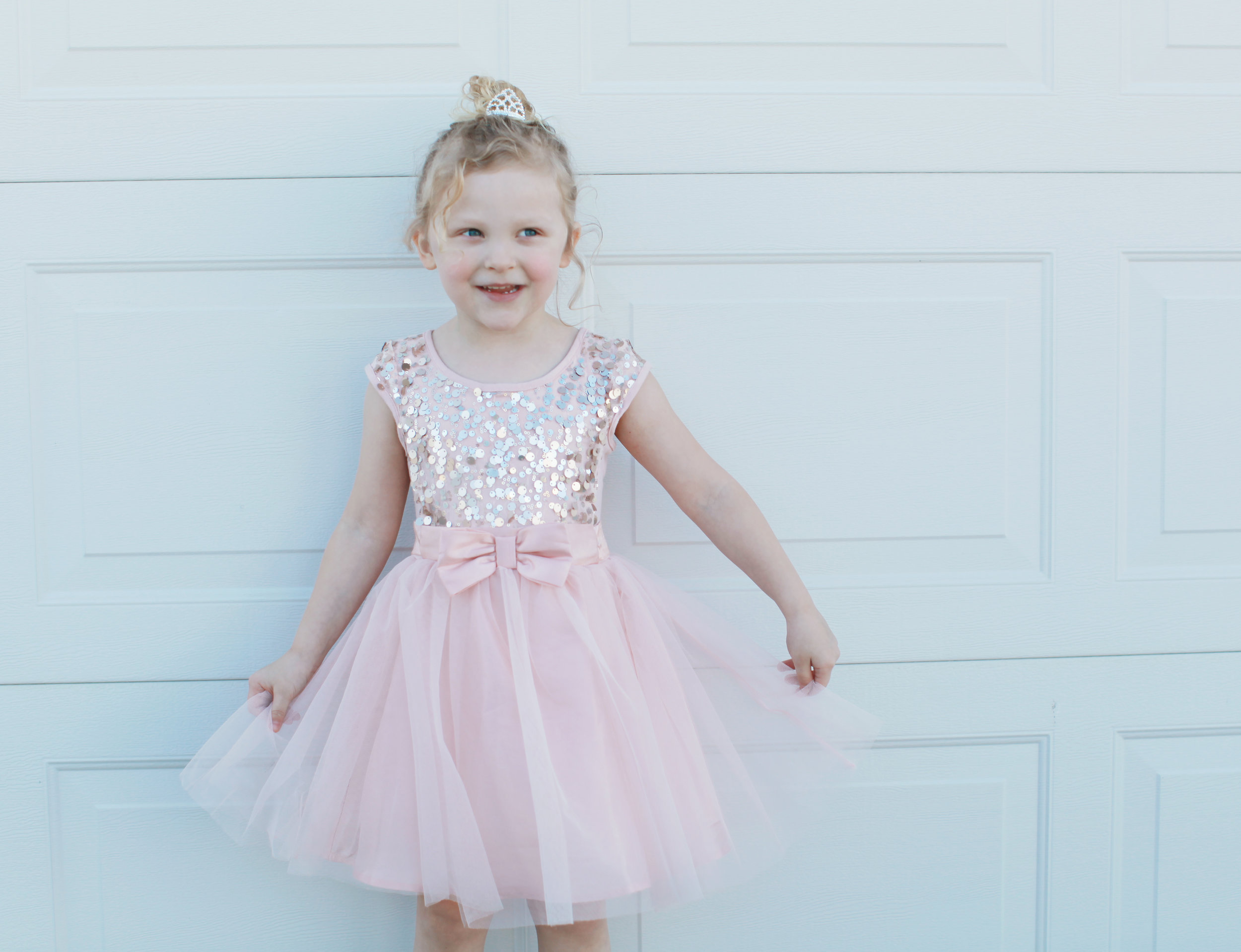 "For her 4th birthday she wanted a dance party and wanted everyone to dress ""pretty"""