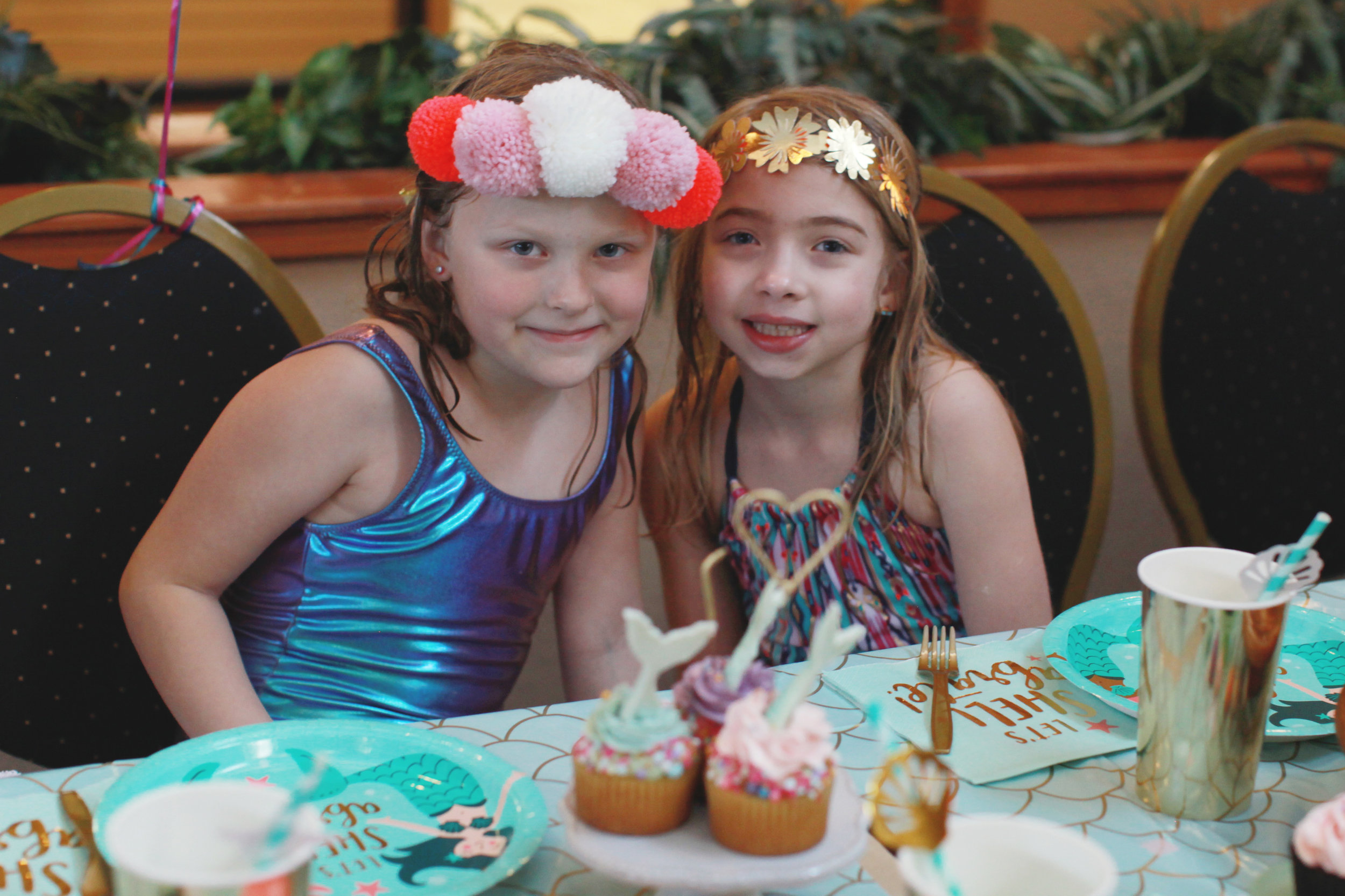 Mermaid Theme Birthday Party for Kids