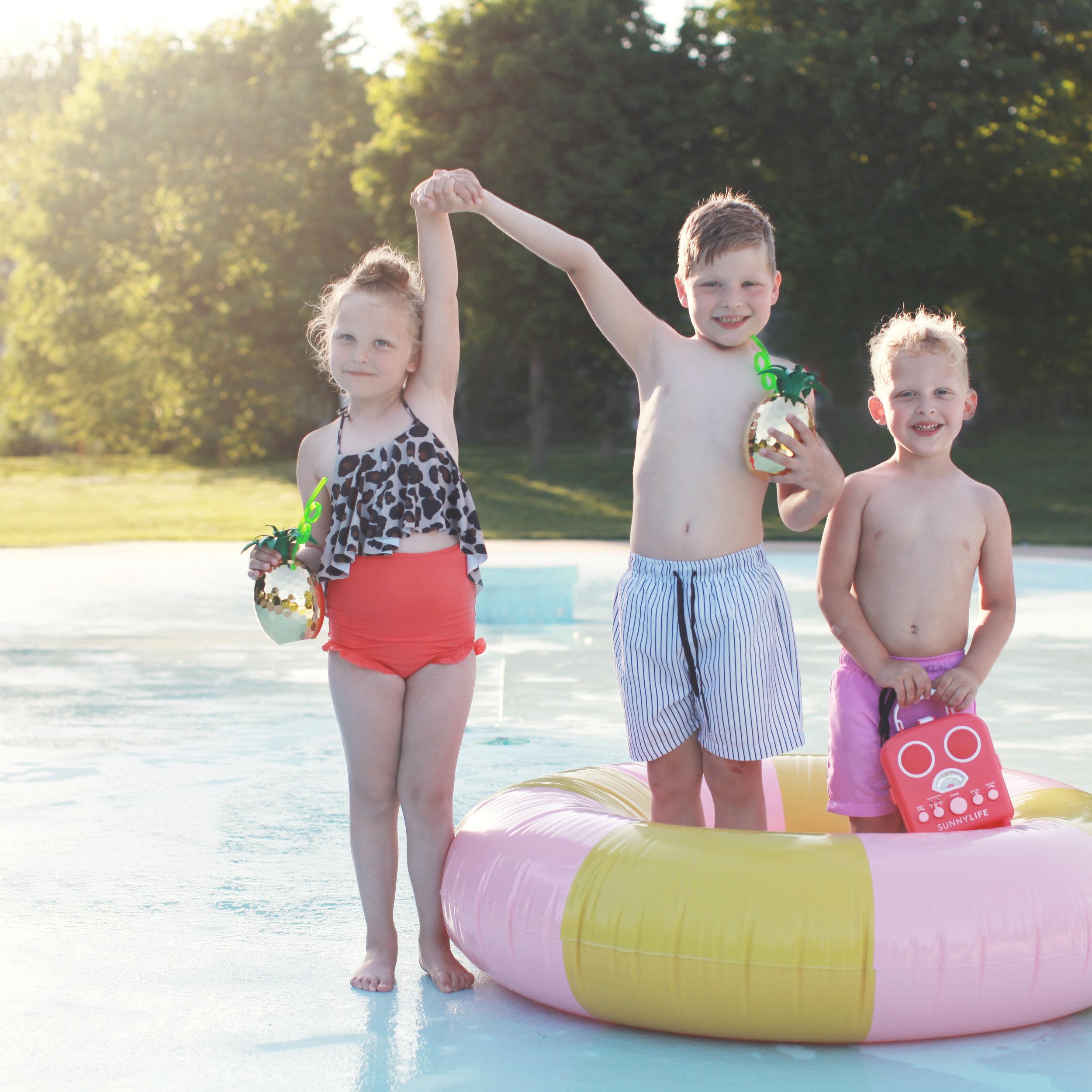 My top FIVE favorite swim for kids