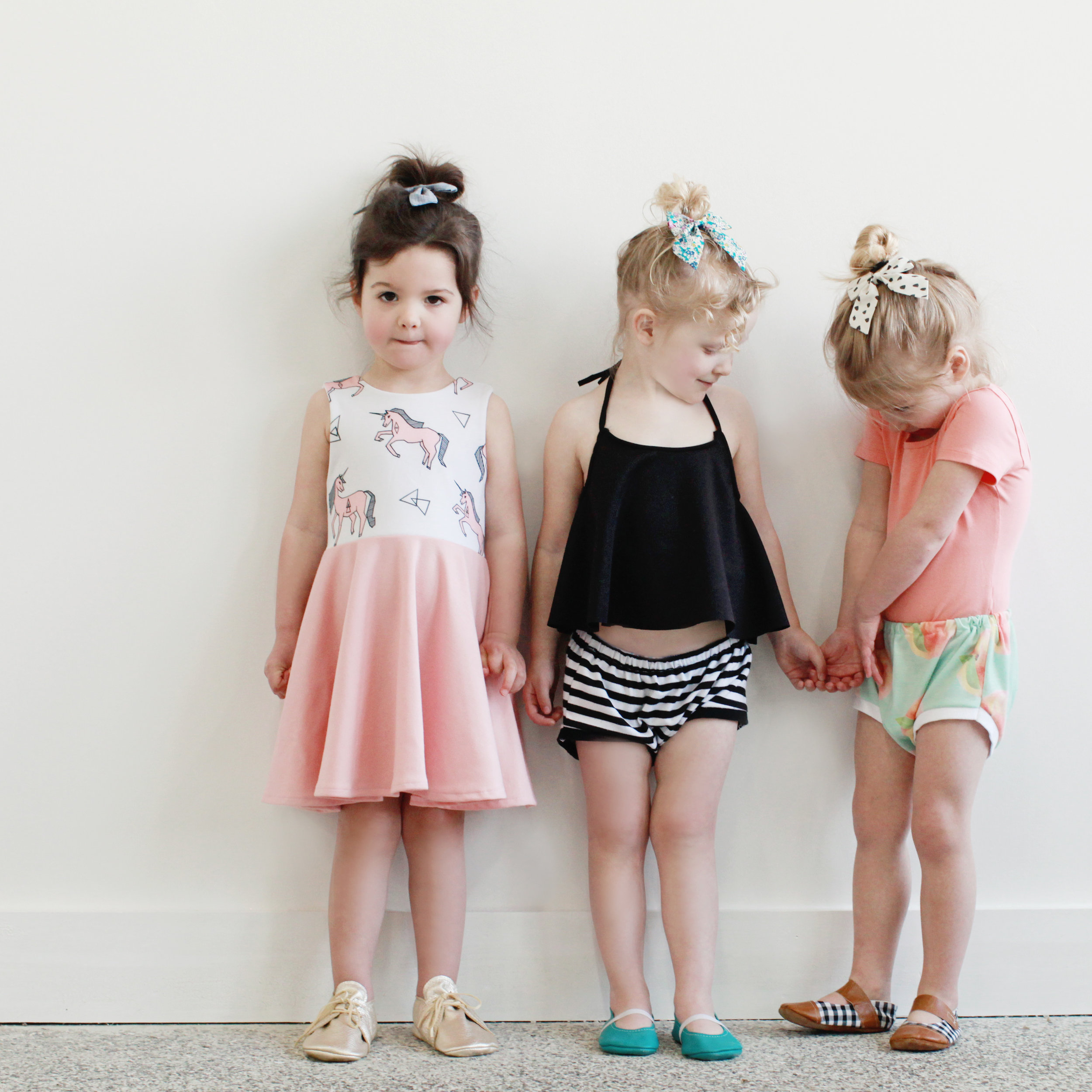 Everyone always asks me how I got my mini models group started - here are the OGs - my nieces and my best friends' daughters!