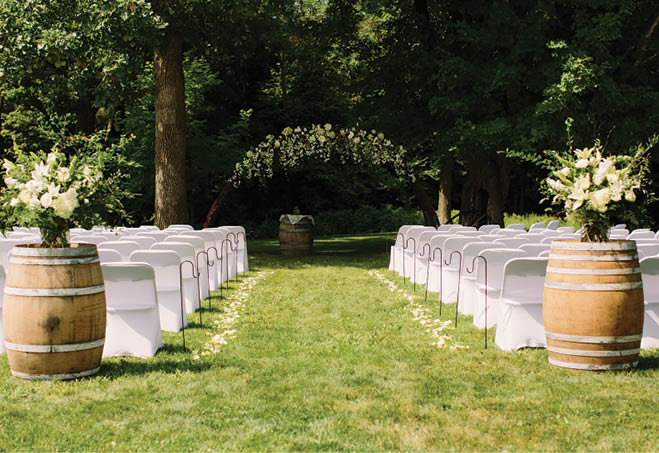 BOOK AN EVENT - Showers, weddings, class reunions and more! Host your event at Munson Bridge Winery!
