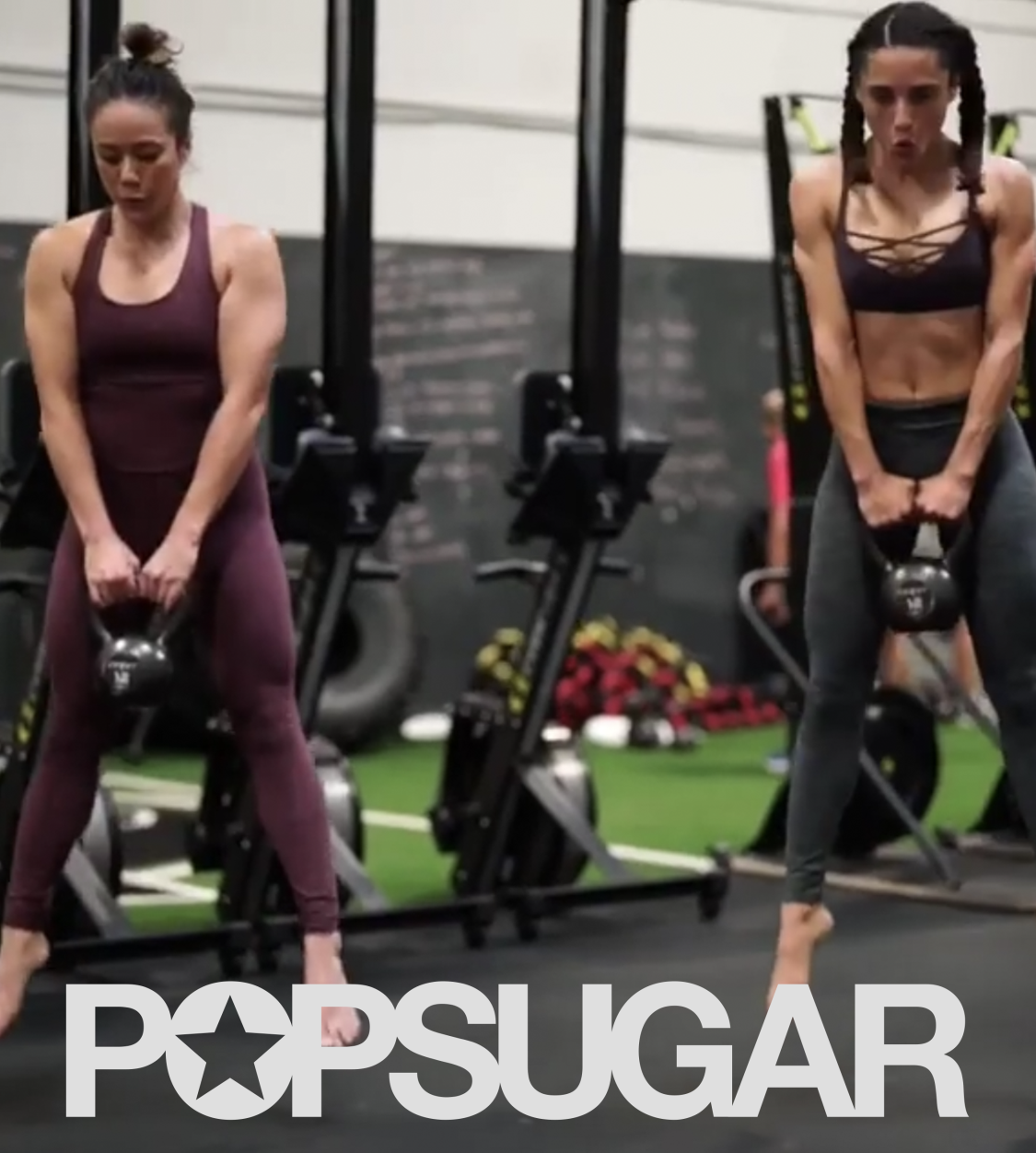 The Exact Kettlebell and Bodyweight Workout That Left My Abs Sore For Days -