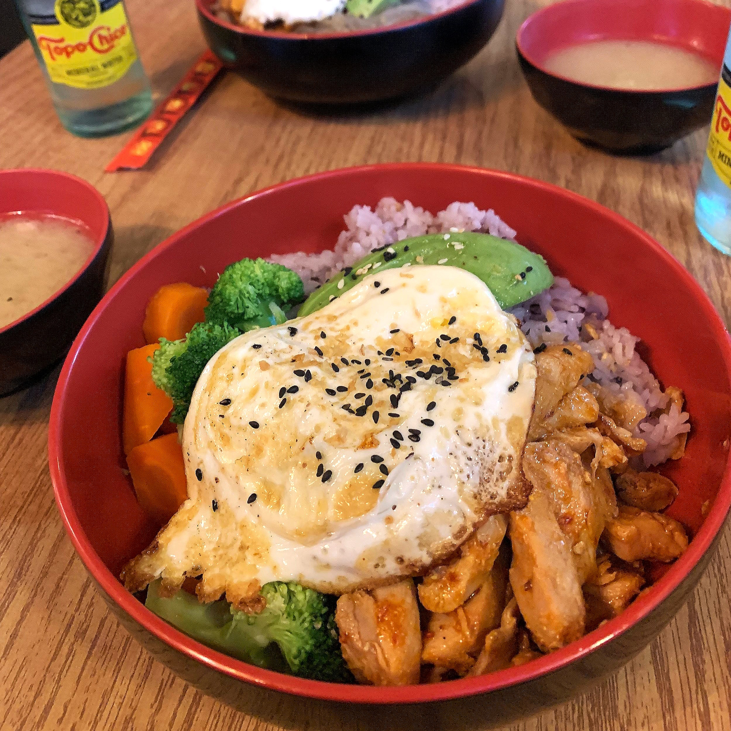 Koriente - Downtown AustinWhat to Order:Spicy Chicken with Rice, Avocado, & Fried EggAbsolutely love going here for a quick, affordable, and nutritious meal.If you go at lunch, you get free salad & miso soup ❤️