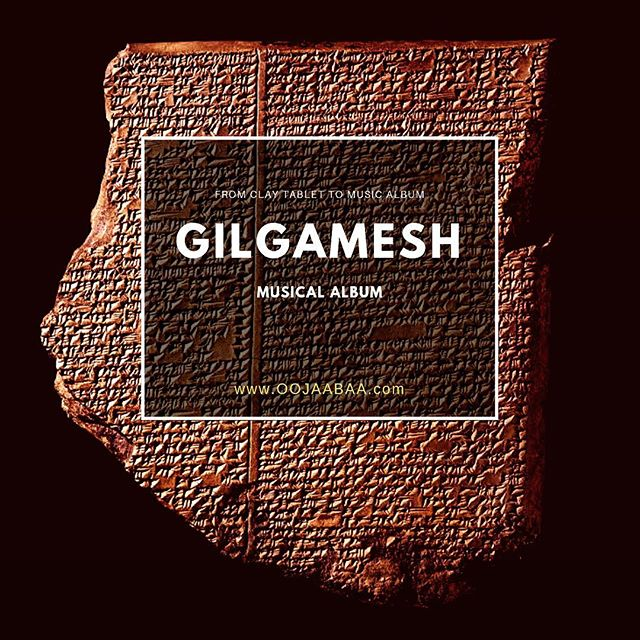 From clay tablets to musical album. #gilgameshmusical #oojaabaa #mesopotamia #assyrian #musicaltheatre #ancient #cuneiform