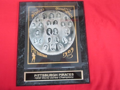 1909 Pirates Engraved Collector Plaque