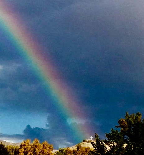 Table Rock Rainbow - Table Rock ButteBoise, Idaho October 22, 2018