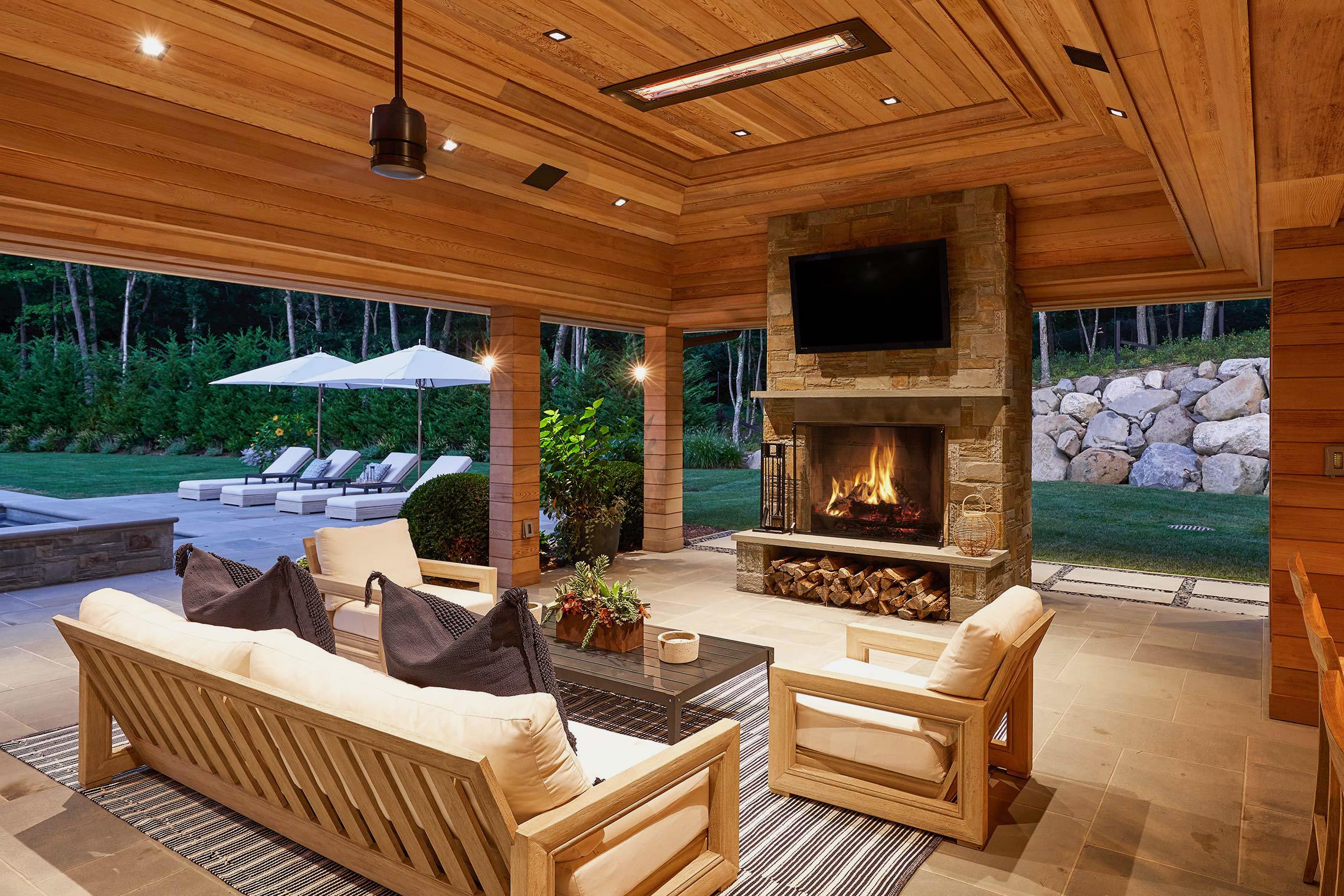 Outdoor Living Space Design outdoor living space design in the hamptons | backyard