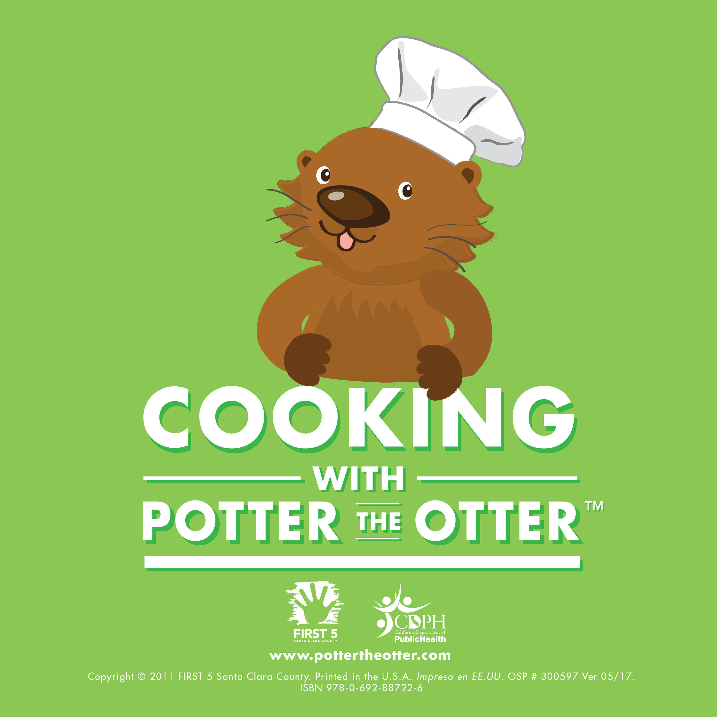COOKING WITH POTTER THE OTTER   Healthy recipes and cooking tips from Potter.