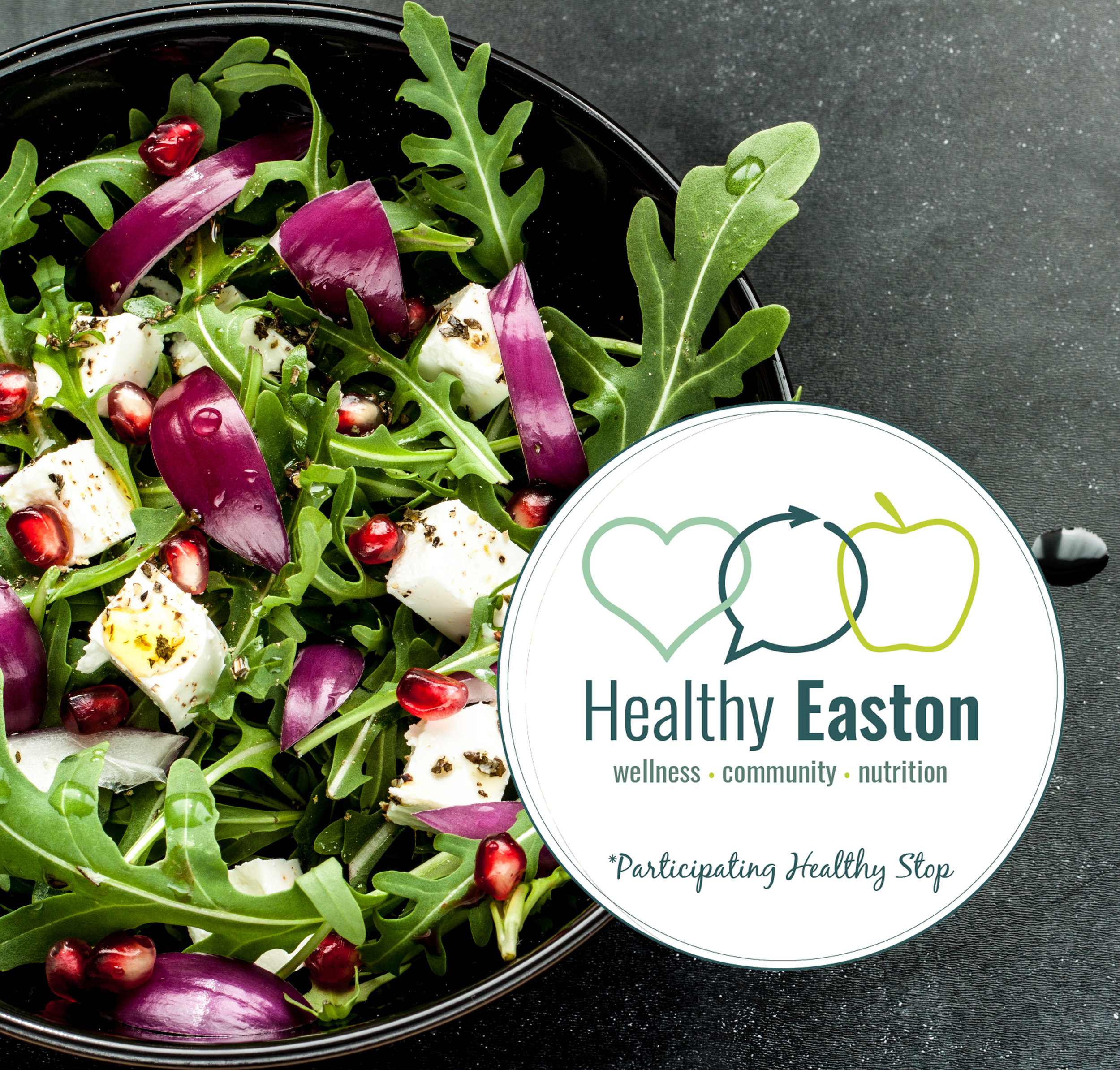 Healthy Stops & Restaurants - WHAT ARE THEY?Healthy Stops are Healthy Easton approved local businesses and restaurants that promote healthy lifestyle choices. All Healthy Stops can be recognized by a Healthy Easton-branded decal.