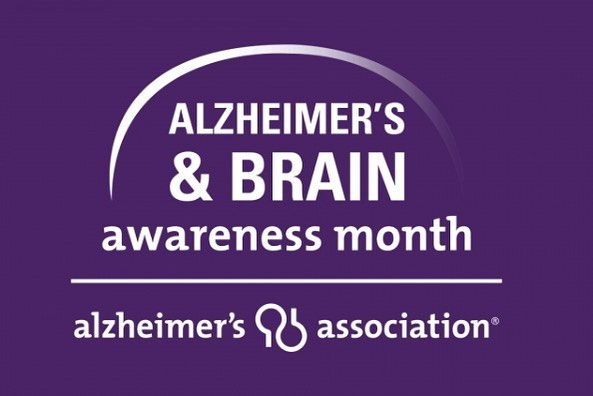 Did you know that June is Alzheimer's and Brain Awareness Month? Currently, there are more than 5 million Americans living with Alzheimer's disease. Wear purple this month to show your support! @alzassociation #endalz