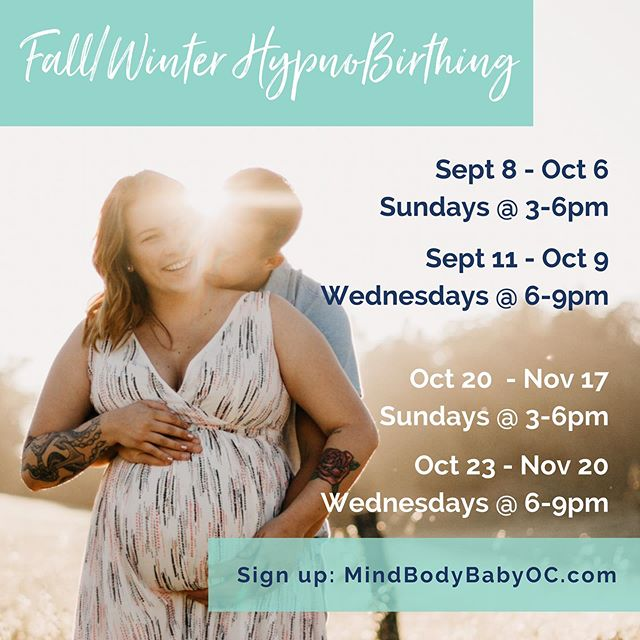 🔟 reasons to sign up for my HypnoBirthing classes:  1️⃣ Only a 5 week series 2️⃣ Techniques are easy for everyone to learn 3️⃣ Techniques work for whatever kind of birth you plan, or the one baby decides is necessary! Meaning you can plan for medication and still greatly benefit from HypnoBirthing... or if you plan to go unmedicated but baby's health necessitates medication or c-section, HypnoBirthing techniques are still extremely valuable 4️⃣ You will learn life skills that carry into your parenting journey 5️⃣ You will learn how to make informed decisions to navigate any twists and turns that come up during pregnancy or labor 6️⃣ You get to meet fellow expecting couples having babies around the same time as you - lifelong besties have been made in my classes! 7️⃣ Regular relaxation practice in pregnancy improves baby's health (fewer premature/low birthweight babies) 8️⃣ Proven method with 30 years of success 9️⃣ You get access to ME! There's no substitute for a live, empathetic birth professional to ask questions to. Whether it's regarding the class materials, random pregnancy symptoms, evidence based information, or local professional referrals I am here for you every step of the way! You don't get that kind of support from an online class or a hospital based course 🔟 Free goody bag 😄  Space still available in all upcoming classes - sign up today ☑️ www.MindBodyBabyOC.com  #hypnobirthing #hypnobirthingoc #monganmethod #mindbodybaby #mindbodybabyoc #pregnant #expecting #ocdoula #doula #childbirthclass #empoweredbirth #calmbirth #instinctivebirth #positivebirth #gentlebirth #homebirth #birthcenter #hospitalbirth #freebirth #birthwithoutfear #orangecounty #ocmom #ocfamily