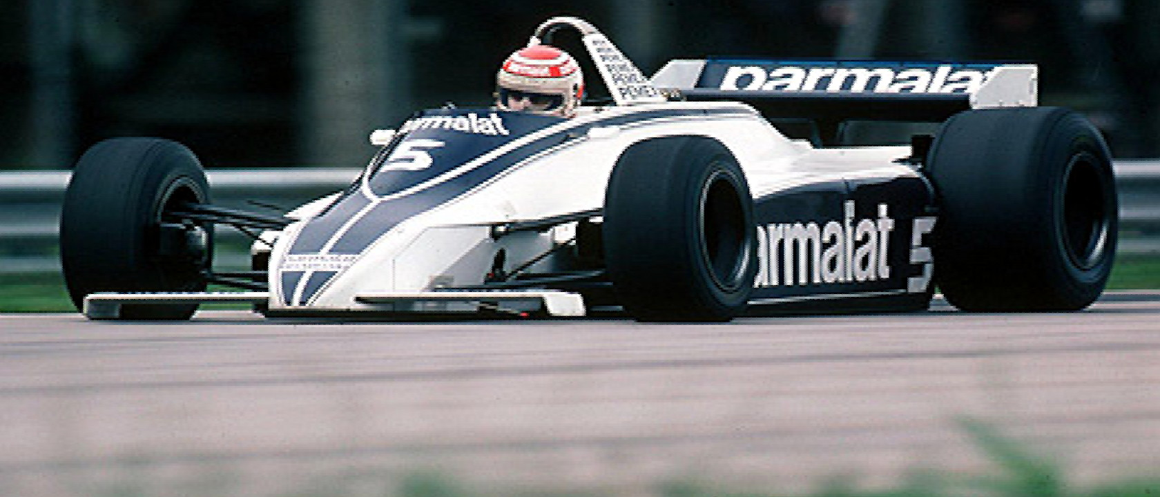 - 1981 F1 World Championship with Nelson Piquet