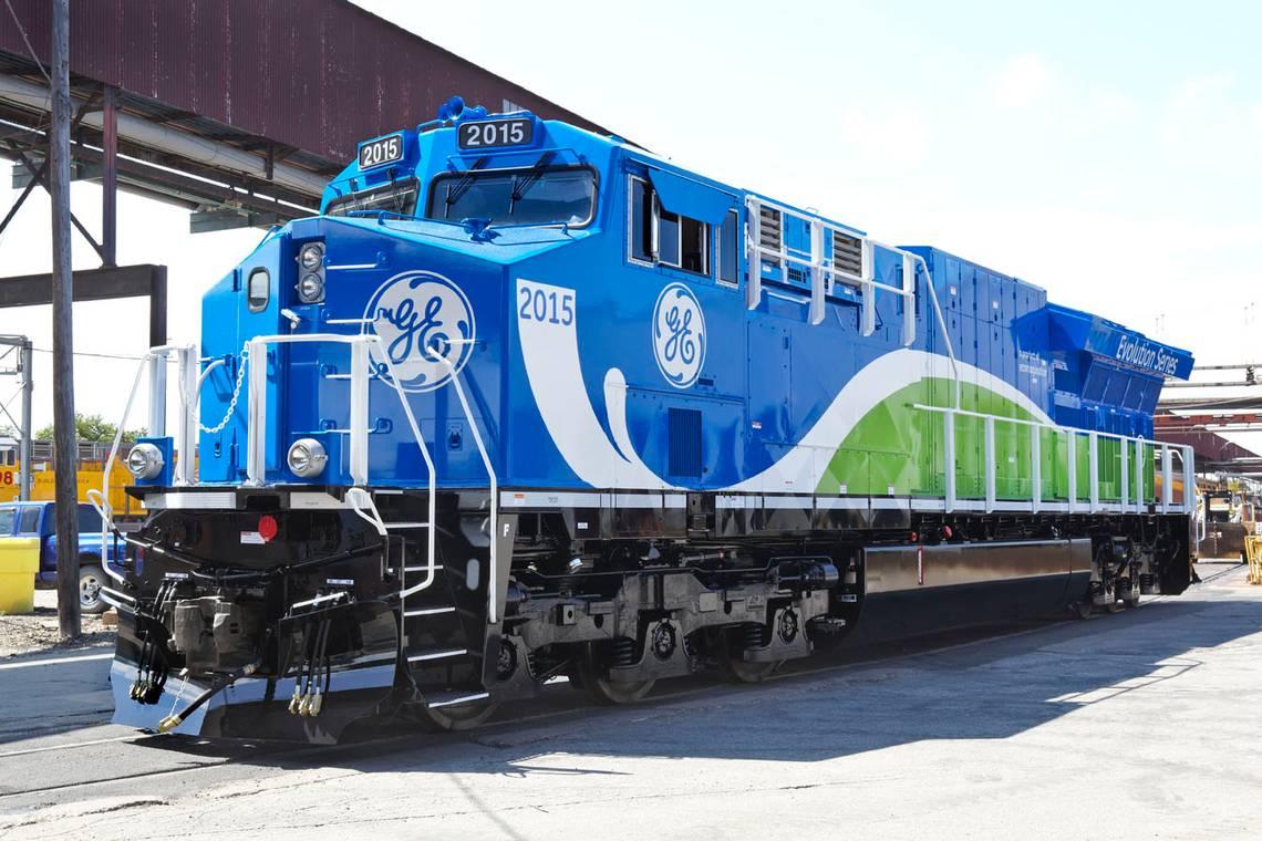 - Deburr and chamfer GE locomotive drivetrain