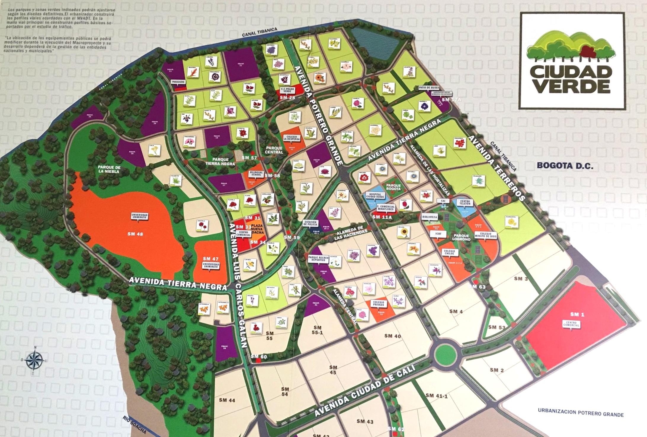 Ciudad Verde es un proyecto de 9 desarrolladores de vivienda que han aprovechado las excelentes políticas de vivienda de Colombia para construir y vender 24,000 viviendas en las afueras de Bogotá.
