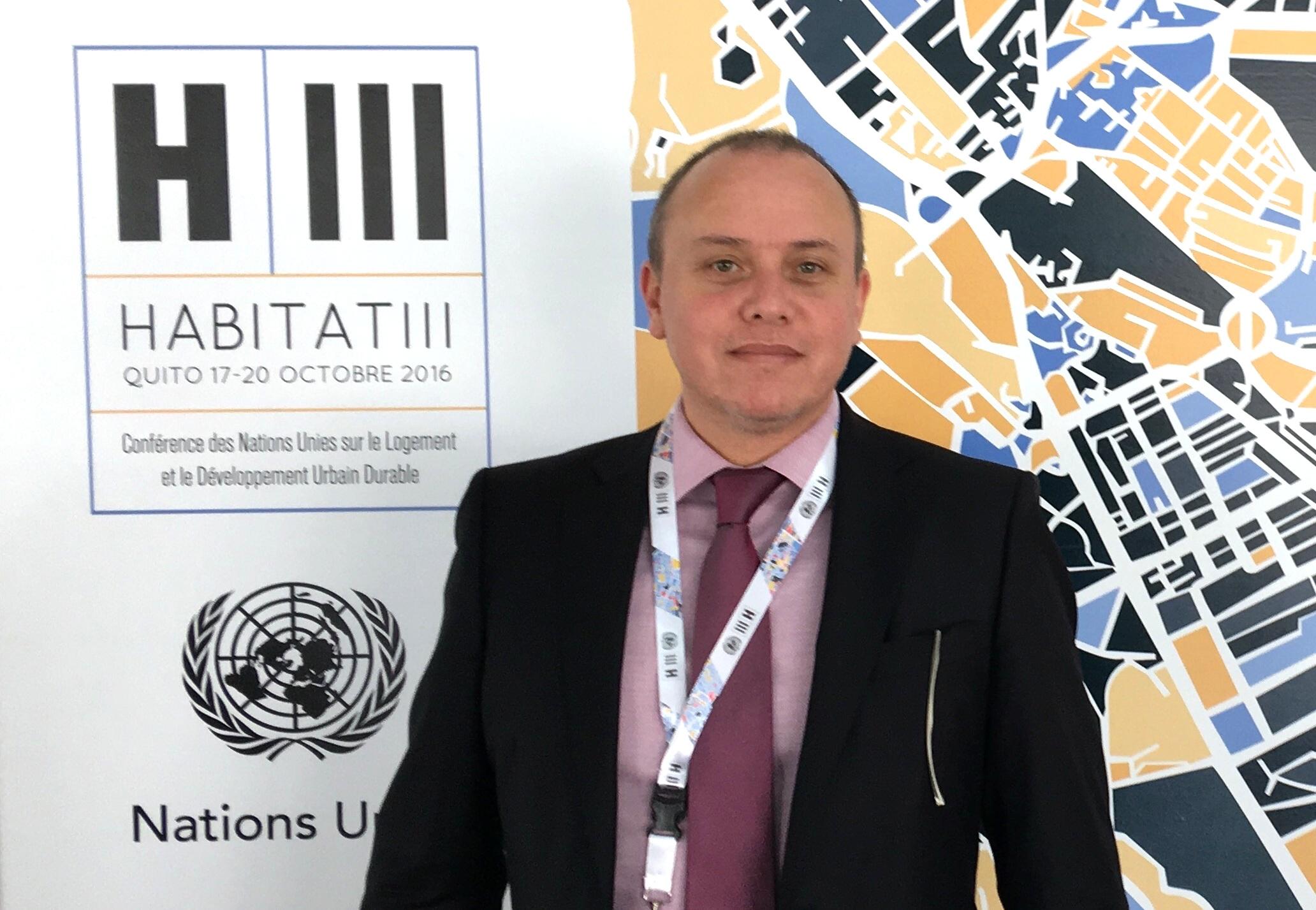 Habitat III es una conferencia mundial que la ONU sostiene cada 20 años.
