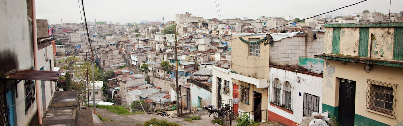 Asentamiento en Guatemala.