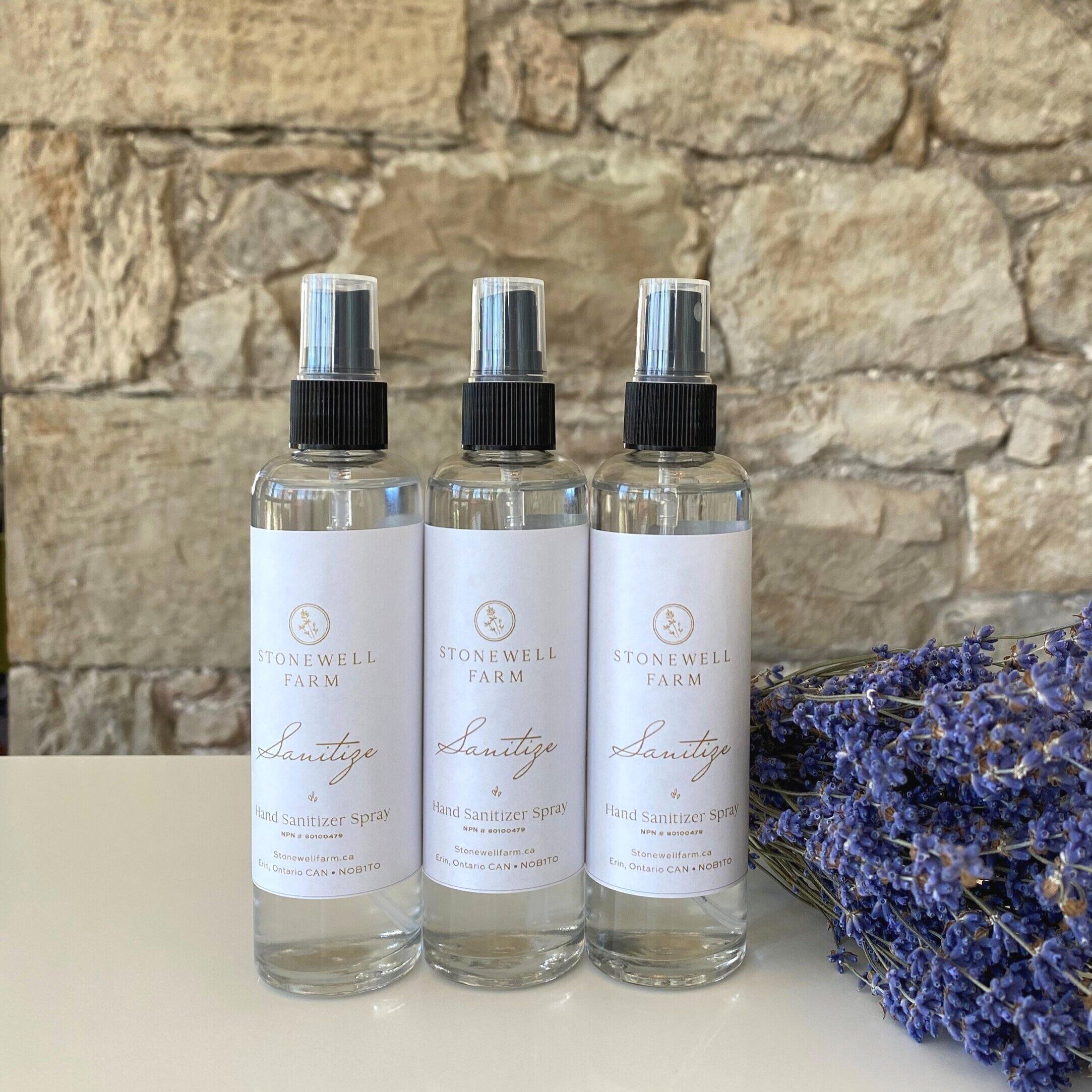 Lavender Hand Sanitizer Spray 100 Ml Stonewell Farm