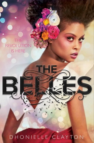 The Belles - Author: Dhonielle ClaytonDescription: The Belles is a fantasy novel set in an alternative world where everyone is born with gray skin, straw-like hair, and red eyes except for an elite group of women who have the power to manipulate bodies, personality, skin color, hair, and a number of other traits. The novel includes royal intrigue, discussions of body politics, and a subtle critique of slavery through the guise of fantasy.Includes: #ownvoices #africanamerican #black #femaleprotagonist #bodypolitics #beauty #slavery #fantasy #magic #alternativeworldsCitation: Clayton, D. (2018). The Belles. Disney-Hyperion.Image retrieved from: Goodreads.
