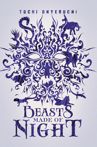 Beasts Made Of Night - Author: Tochi OnyebuchiDescription: Beasts Made Of Night is a fantasy novel set in an alternative world. Evil mages in this world are on a quest to mold sin and guilt into magical creatures called sin-beasts. These beast can only be destroyed by aki, young sin-eaters, who take on the weight of the sin. This book follows a male protagonist who is a sin-eater and who is in a battle to save the princess whom he loves. The book draws on Nigerian folklore.Includes: #ownvoices #africanamerican #black #maleprotagonist #magic #alternativeworlds #fantasyCitation: Onyebuchi, T. (2017). Beasts made of night. Razorbill.Image retrieved from: Goodreads.