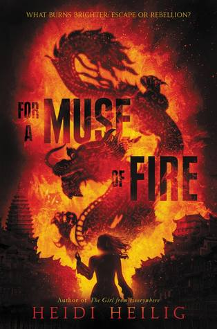 For A Muse of Fire - Author: Heidi HeiligDescription: For A Muse of Fire is a fantasy novel about girl with Bipolar Disorder who has the ability to bind the souls of the recently departed to the puppets she works with as a puppeteer. The story follows her as she gets mixed up in royal intrigue and adventure. The story is based on Asian folklore and French colonialism.Includes: #ownvoices #mentalhealth #bipolar #asianamerican #asian #fantasy #magic #femaleprotagonistCitation:Heilig, H. (2018). For A Muse of Fire. Greenwillow Books.Image retrieved from: Goodreads.