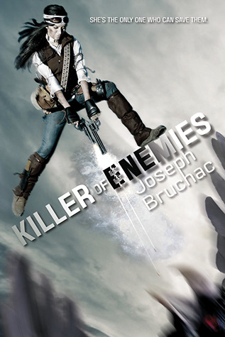 Killer of Enemies - Author: Joseph BruchacDescription: Killer of Enemies is a supernatural story about an Apache girl who has the power to kill monsters and becomes a hero.Includes: #ownvoices #nativeamerican #indigenous #apache #dystopian #femaleprotagonistCitation: Bruchac, J. (2013). Killer of Enemies. Tu Books.Image retrieved from: Goodreads.