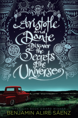 Aristotle and Dante Discover the Secrets of the Universe - Author: Benjamin Alire SáenzDescription: Aristotle and Dante Discover the Secrets of the Universe is the story of two Mexican American boys and their struggles with racial and ethnic identity, sexuality, and family.Includes: #ownvoices #gay #LGBTQIA #maleprotagonist #latinx #contemporary #ruralCitation: Sáenz, A. ( 2012). Aristotle and Dante Discover the Secrets of the Universe. Simon Schuster Books for Young Readers.Image retrieved from: Goodreads.