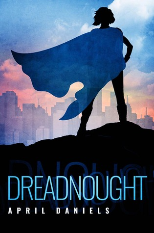 Dreadnought - Author: April DanielsDescription: Dreadnought is a superhero story about a transgender girl who has to live in a male body until her proximity to a superhero's death transforms her body into the female form she has always wanted.Includes: #ownvoices #transgender #transfeminine #LGBTQIA #transprotagonist #superheroCitation: Daniels, A. (2017). Dreadnought. Diversion Publishing.Image retrieved from: Goodreads.