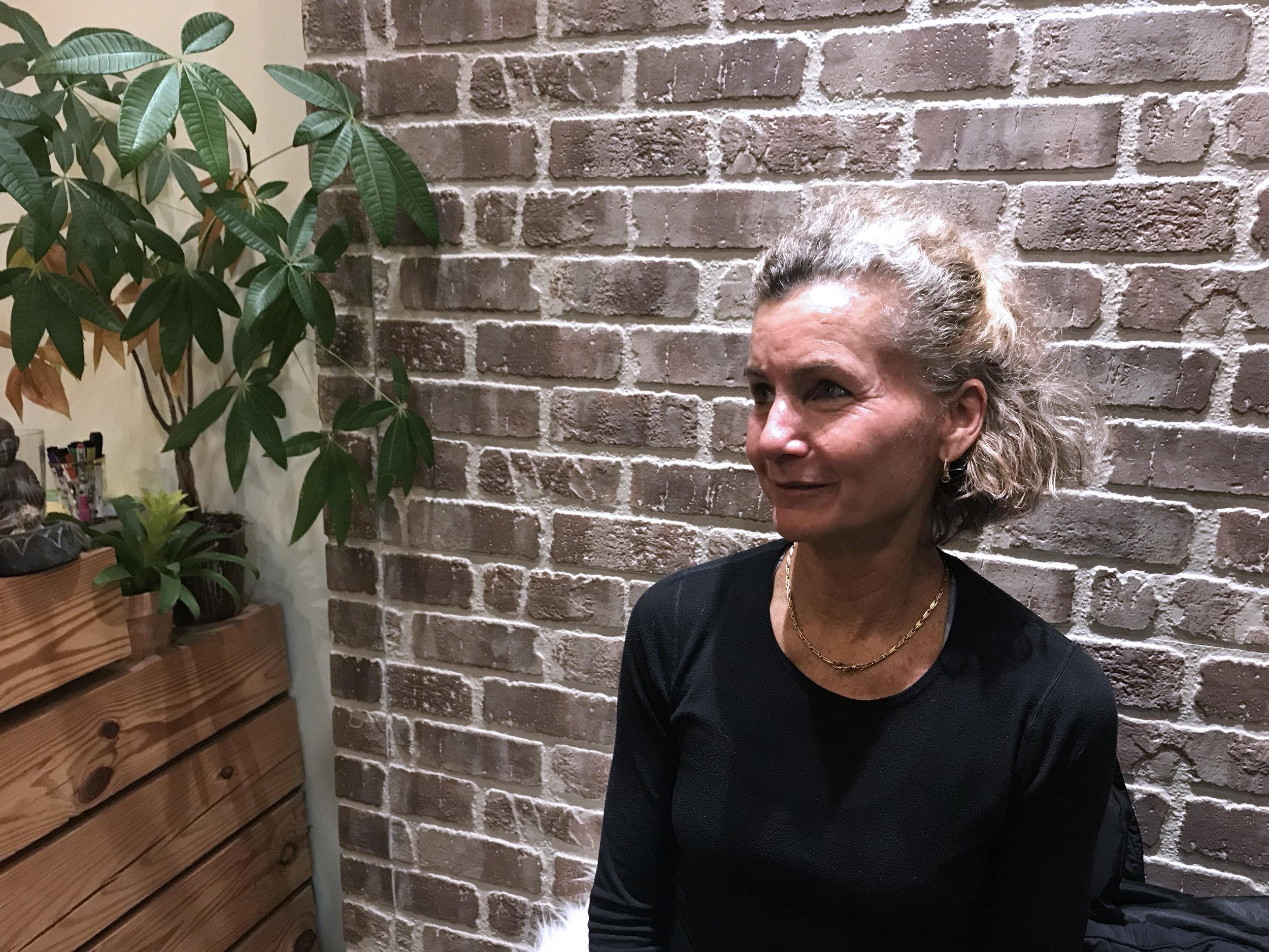 Michele Trufant, Vinyasa teacher at Easy Day Yoga in Ashburn, Va.