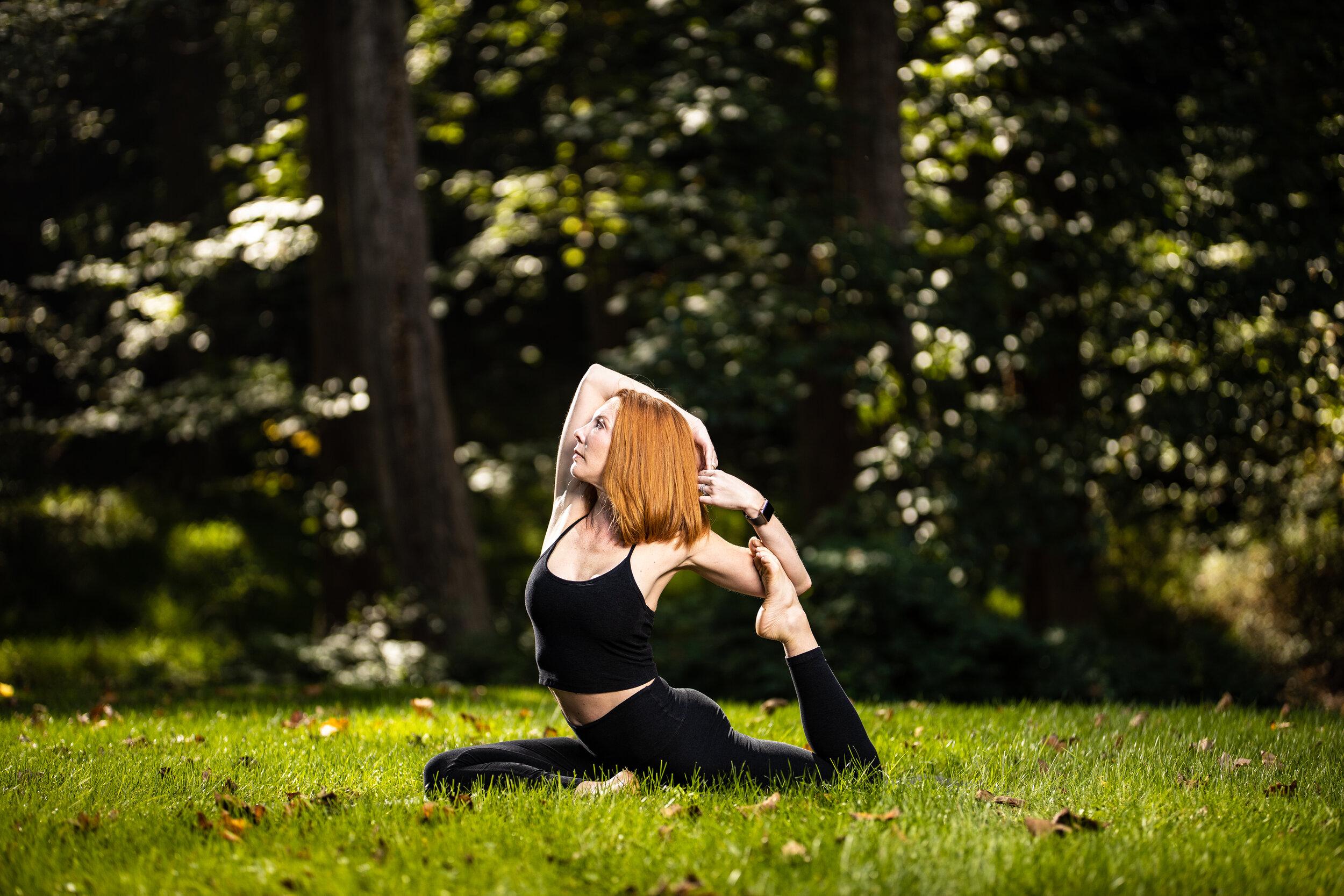 Michelle Caples, Vinyasa teacher at Easy Day Yoga in Ashburn, Va.