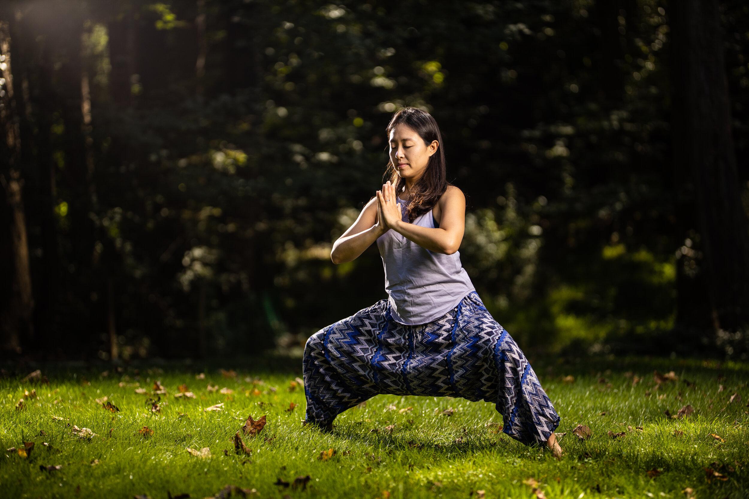 Minjung Seo, Prenatel Yoga teacher at Easy Day Yoga in Ashburn, Va