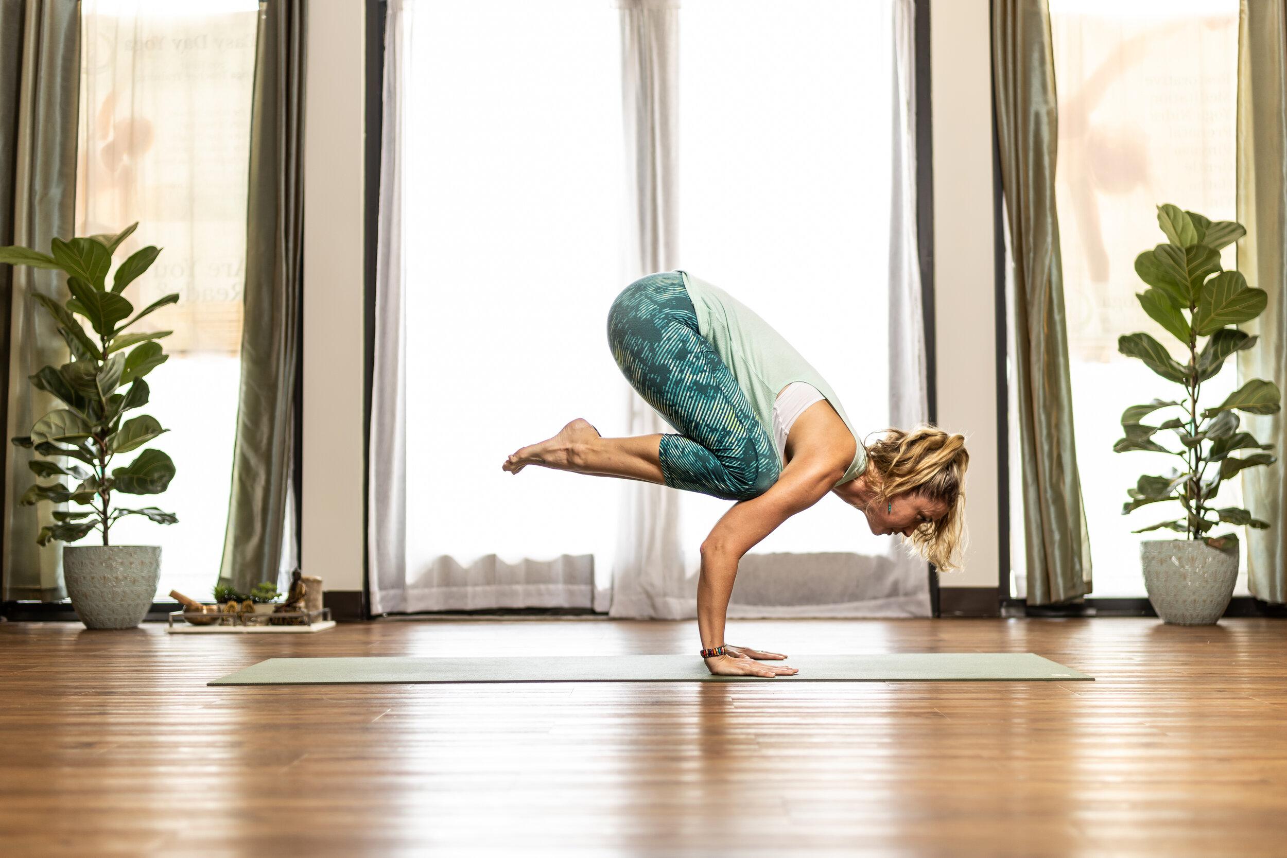 Susan Greene, Vinyasa Yoga teacher at Easy Day Yoga in Ashburn, Va.