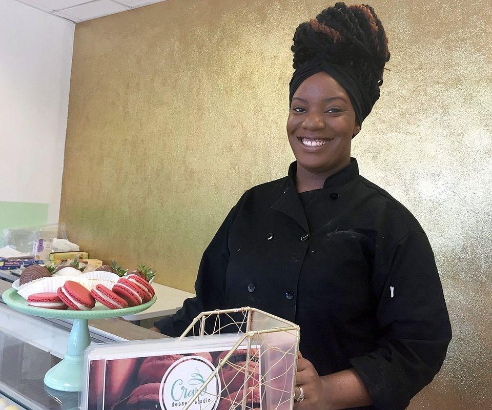 Tykemia Carman - -Owner/ Baker of Crave Dessert Studio