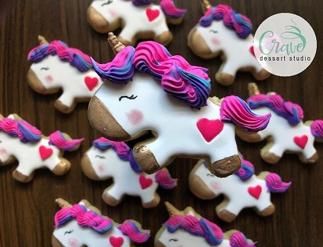 Unicorn Sugar Cookies!! 🦄🦄