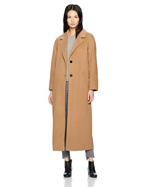 Mackage Women's Doubleface Wool Menswear Inspired Coat -