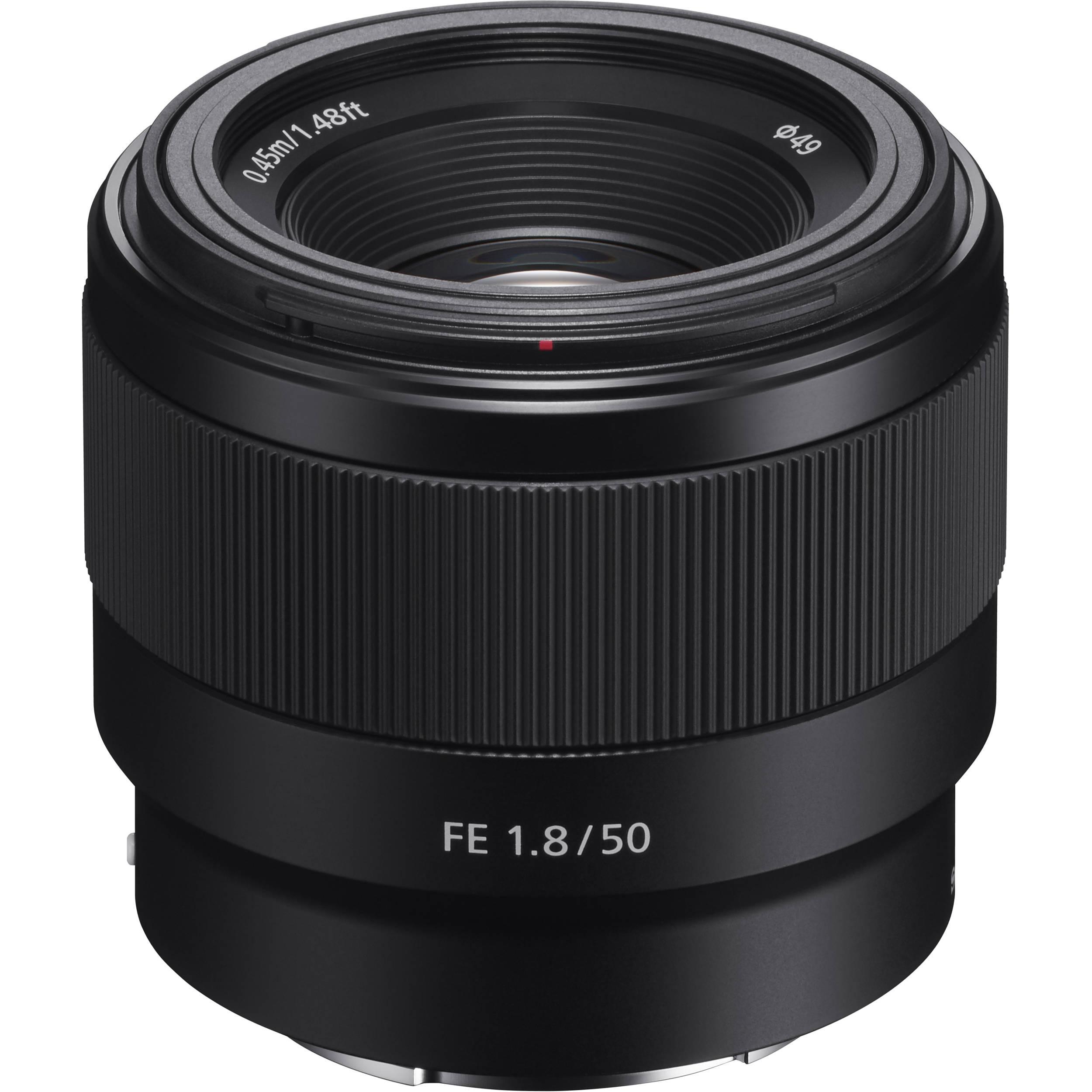 Sony FE 50mm f/1.8 Lens -