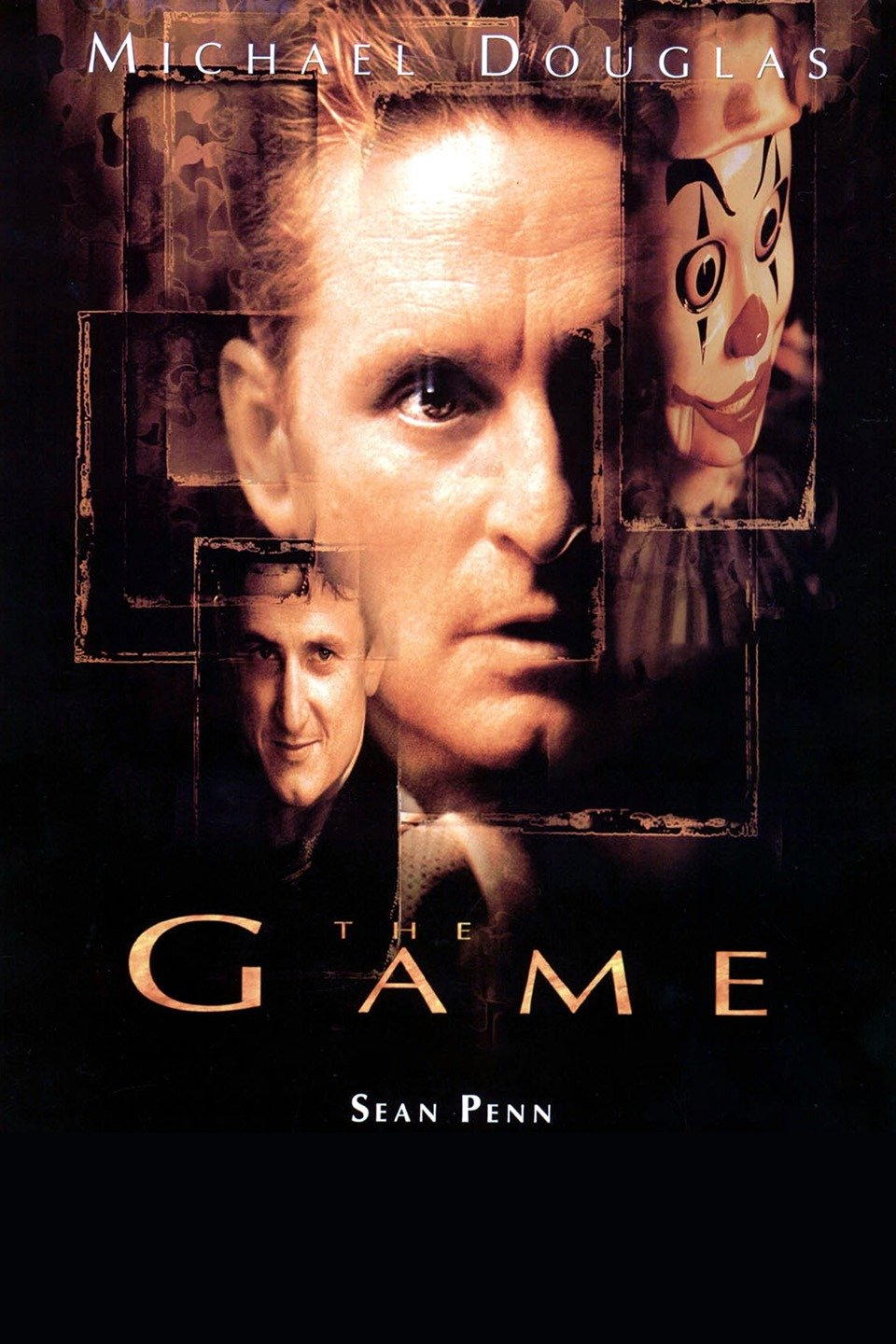 — THE GAME   Nicholas Van Orton (Michael Douglas) is a successful banker who keeps mostly to himself. When his estranged brother Conrad (Sean Penn) returns on his birthday with an odd gift -- participation in a personalized, real-life game -- Nicholas reluctantly accepts. Initially harmless, the game grows increasingly personal, and Orton begins to fear for his life as he eludes agents from the mysterious game's organizers. With no one left to trust and his money gone, Orton must find answers for himself.